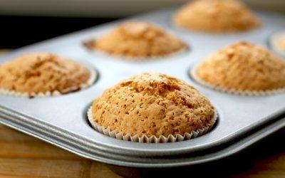 Muffin alla mela e sciroppo d'acero
