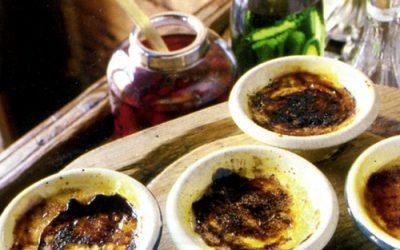 Crème brulé al bergamotto